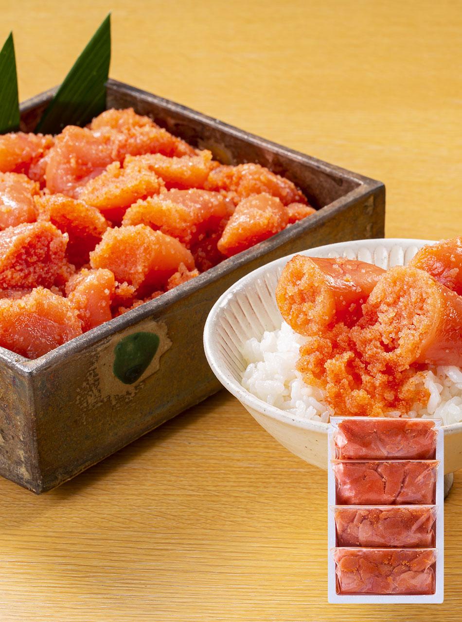 無色辛子めんたい切子250g×4